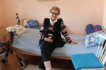 Nejstarší občanka Bystřice pod Hostýnem Anna Machová, která bydlí v tamním centru pro seniory Zahrada, oslavila 102. narozeniny.
