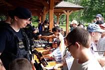 Den s policií v Bystřici pod Hostýnem