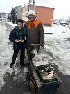 Masopustní průvod masek vyrazil ve Střílkách v sobotu 10. února na obchůzku obcí.