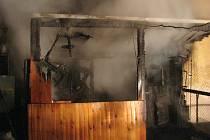 Jednotky profesionálních i dobrovolných hasičů z Holešova v neděli likvidovaly rozsáhlý požár dílny a kůlny u rodinného domu. V troskách zahynulo veškeré domácí ptactvo, hasiči však zachránili alespoň majitelova psa.