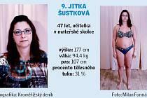 Kroměřížsko hubne. Soutěžící 9. Jitka Šustková