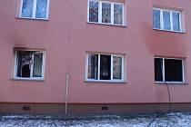 Požár v kroměřížském bytě nepřežila jedna osoba.