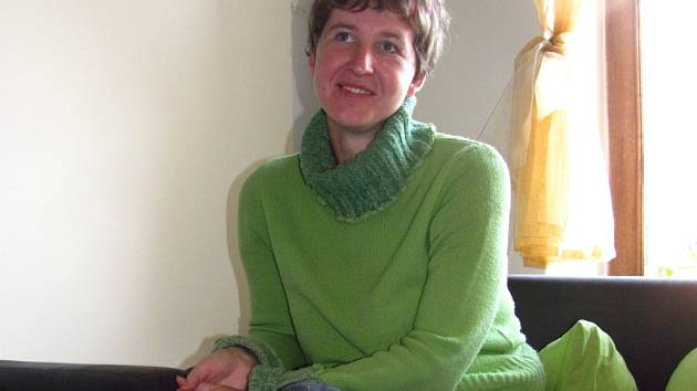 Marie Pěnčíková z Morkovic-Slížan je kandidátkou za KSČM ve volbách 2013.