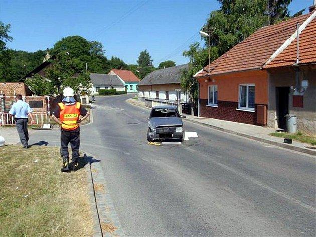 Bez vážných následků se obešla nehoda, kterou policisté řešili v pondělí po deváté hodině ráno v ulici Kyjovská v Koryčanech.
