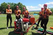 Téměř padesát družstev se utkalo v sobotu 18. června v Litenčicích na fotbalovém hřišti, kde se konala Podhostýnská hasičská liga.
