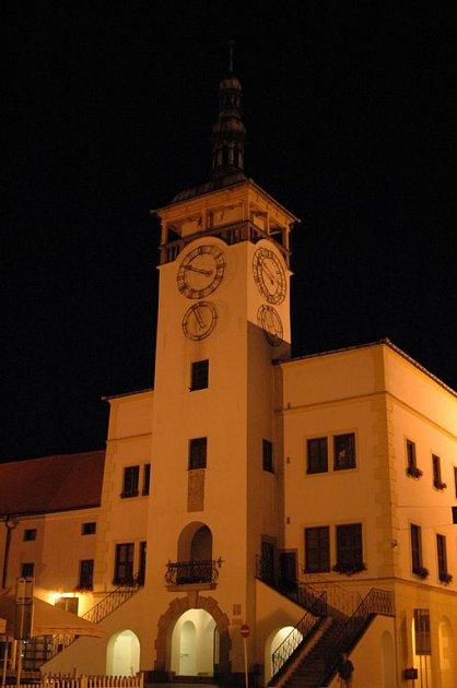 Kroměřížská radnice.