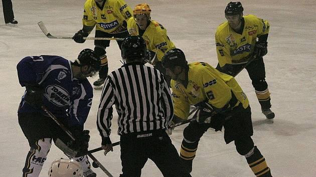 Kroměřížští hokejisté na ledě soupeře letos poprvé prohráli.