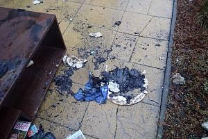 Požár od adventního věnce v rodinném domě v Bystřici pod Hostýnem