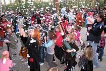 Jedno z prvních Pálení čarodějnic v regionu se konalo v sobotu 24. dubna 2010 v holešovské místní části Količín.