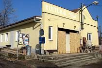 Kulturní dům v Nětčicích prochází nákladnou rekonstrukcí.