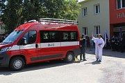 Při příležitosti letošních oslav 130. výročí založení sboru převzala v minulých dnech jednotka dobrovolných hasičů z Morkovic-Slížan nový zásahový automobil značky Fiat.
