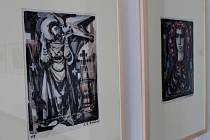 V Chropyni je k vidění výstava českého malíře Antonína Marka Machourka.