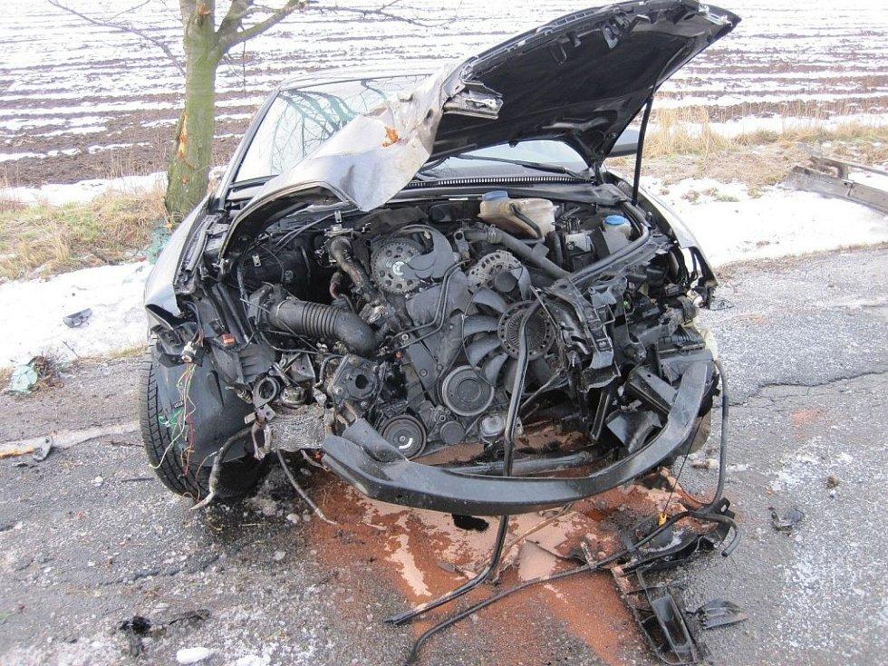 Nehoda superbu u Martinic