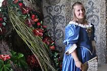 Jitka Kastnerová na festivalu Hortus Magicus.