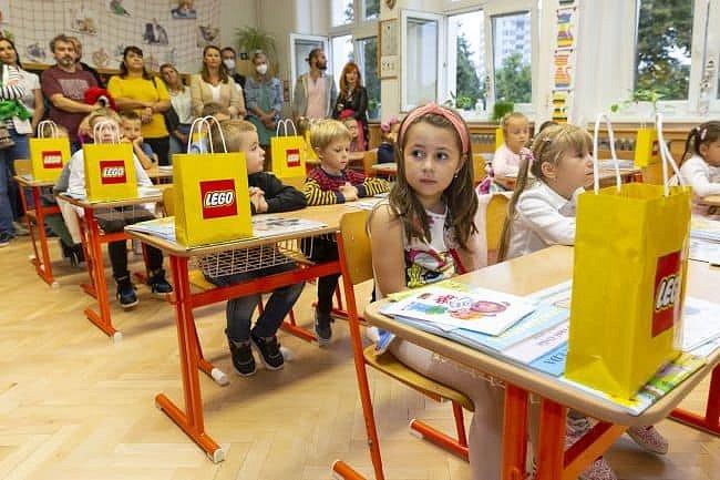 V kroměřížských základních školách přivítali 323 prvňáčků.