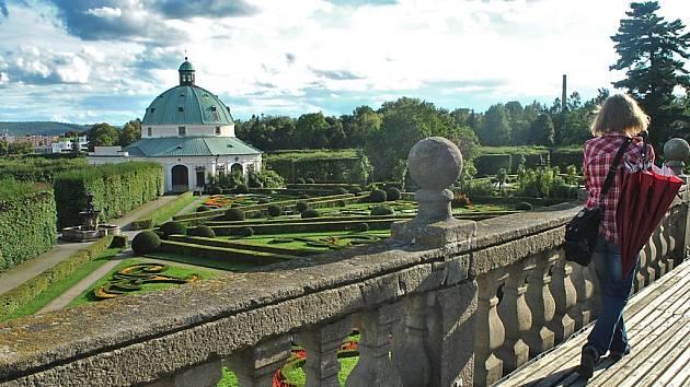 Květná  zahrada v Kroměříži. Ilustrační foto.