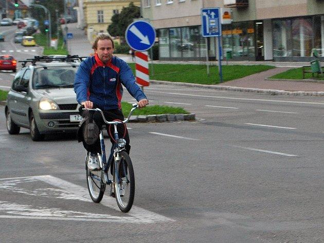 Cyklista – ilustrační foto.