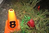 Zatím neznámý řidič zranil v pátek 21.10. pozdě večer mezi Kroměříží a Jarohněvicemi cyklistku a z místa ujel, aniž by jí poskytl pomoc: policie po něm pátrá, vodítkem může být zrcátko, které při střetu z auta upadlo.