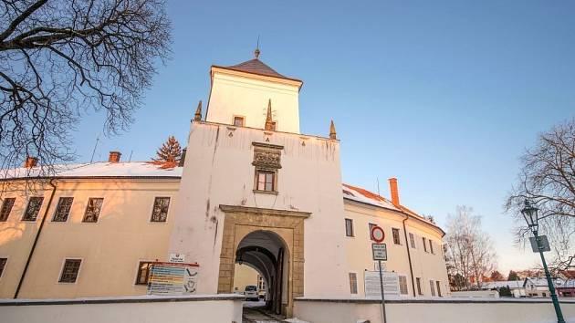 Zámek v Bystřici pod Hostýnem.
