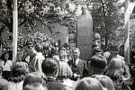 1938. Při příležitosti dvacátého výročí založení republiky byl v Nové Dědině odhalen pomník prvního prezidenta Tomáše Garrigua Masaryka. Ten na svém místě dodnes stojí v nezměněné podobě.