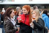 Na kroměřížském výstavišti Floria se konal dvoudenní festival hudby, piva a adrenalinu pod názvem Svatováclavské pivní slavnosti.