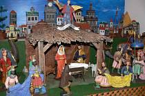 V Záhlinicích oslavili o víkendu Den řemesel a návrat zrestaurovaného betlému.