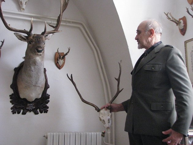 V budově Okresního mysliveckého svazu Kroměříž mohou až do konce ledna myslivci odevzdávat zvířecí trofeje.