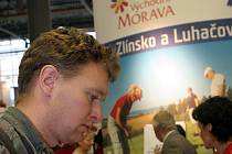 Stánech východní Moravy na veletrhu Regiontour.
