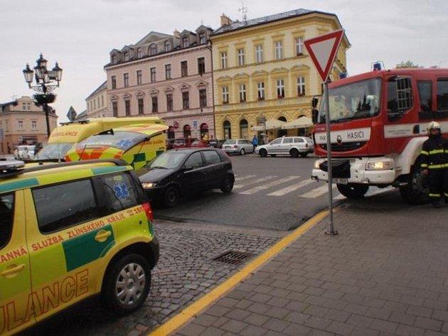 Únik rtuti z rozbitého teploměru řešili v pátek 19. června hasiči na kroměřížském gymnáziu.