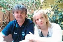 Libor Kopčil s manželkou