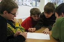 V holešovské 3. základní škole se koná projekt Multikultura.
