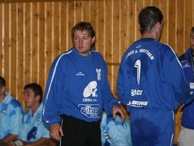 brankář Martin Bobál
