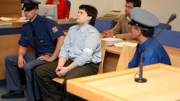 Zlínský soud projednával případ Davida Hladíka, obviněného z vraždy.