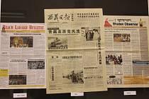 Výstava s názvem Noviny Asie pod jednou střechou bude ve vestibulu kroměřížského Domu kultury k vidění pouze do pátku 22. prosince.