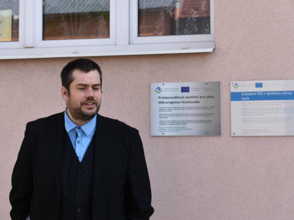 Starosta Bořenovice Jakub Bednárek