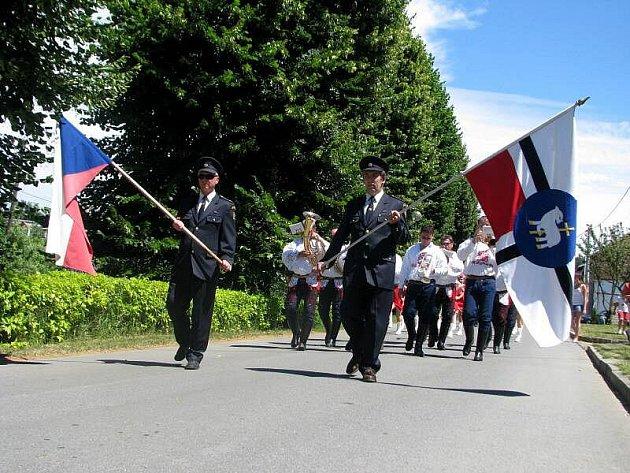 V Jankovicích slavili o prodlouženém víkendu 650. let od založení obce.