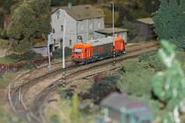 Výstava železničních modelů v Domu kultury v Kroměříži