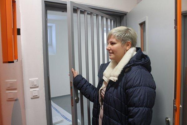 VKroměříži otevřeli ve čtvrtek 7.ledna nové prostory přestěhované protialkoholní záchytné stanice: slavnostního zahájení provozu se účastnili zástupci vedeni nemocnice a kraje, mezi jinými ihejtman Stanislav Mišák.