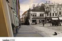 Třináct pohledů na už neexistující Kroměříž přináší nový nástěnný kalendář, který na rok 2018 vydala tamní radnice.