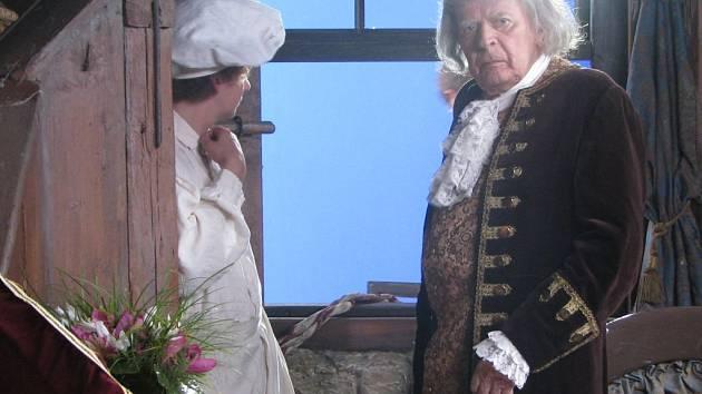 Natáčení nové pohádky Peklo s princeznou v Květné zahradě