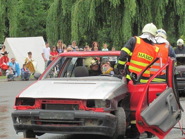 Dobrovolní hasiči ze Střílek oslavili v sobotu 28. června sto třicet let od svého založení.