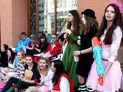 Studenti kroměřížského gymnázia. Ilustrační foto
