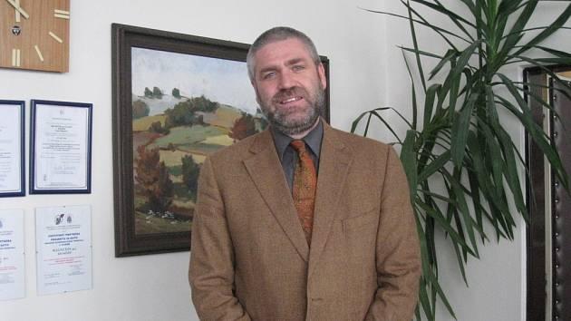 Ředitel Magnetonu Kroměříž Petr Peštuka