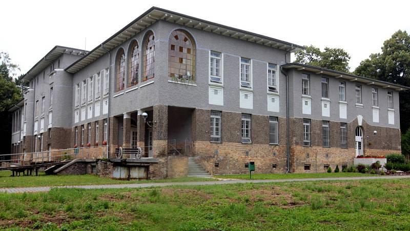 Psychiatrická nemocnice v Kroměříži, srpen 2021