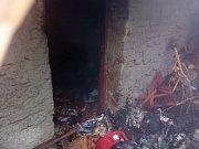 V Kostelci u Holešova hořel rodinný dům, zranili se tři lidé