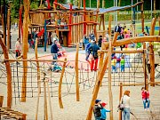 Na kroměřížském výstavišti Floria otevřou v pátek 17.6. poprvé oficiálně prostor plný atrakcí nazvaný Dětský svět.