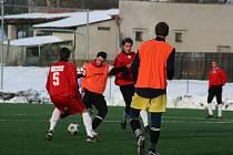 Fotbalisté Hulína