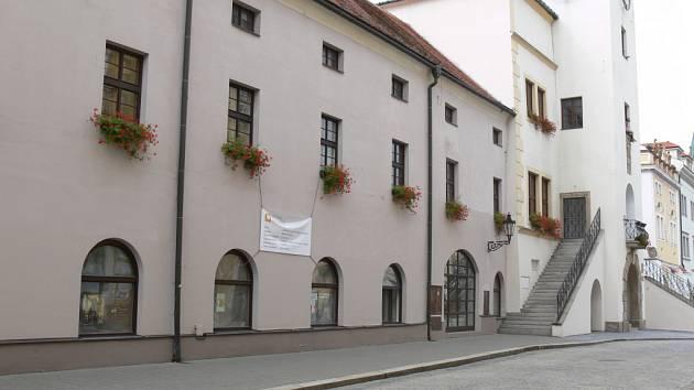 Kroměřížská radnice. Ilustrační foto