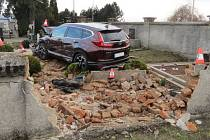 Divoká nehoda v Třeběticích