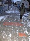 V kroměřížských ulicích, které nesou jména básníků se objevily úryvky jejich textů. Má to na svědomí občanské sdružení Get Art.
